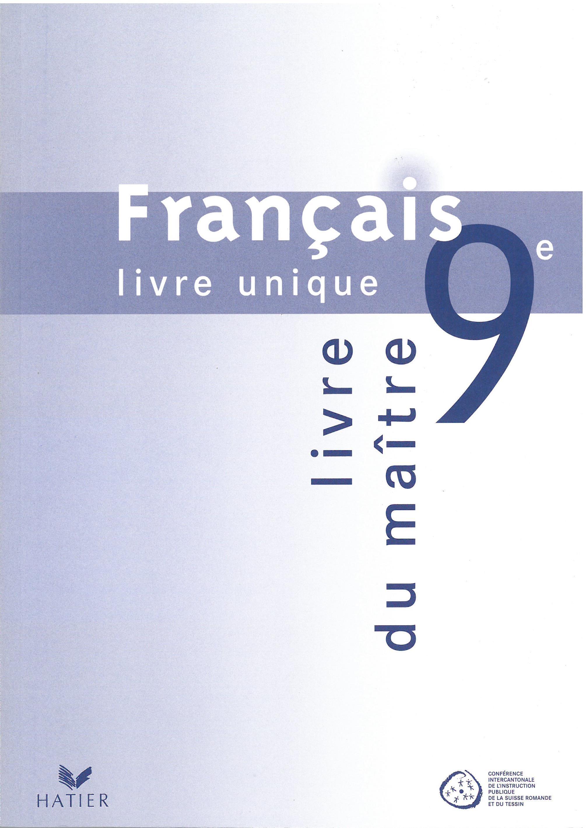 Francais Livre Unique Ciip